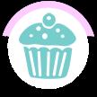 Emily Kate Cupcakes Logo